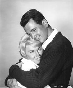 """Doris Day and Rock Hudson. This couple of actors played in several movies together in the 60s. They had great chemistry and were so loved. Little did we know that there was a whole other life going on with Rock which ended in tragedy but brought a real human face to a disease that is a plague on our nation. Since him, people can now """"live"""" with HIV and AIDS."""