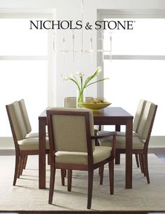Nichols & Stone Catalog  Nichols & Stone Furniture Catalog