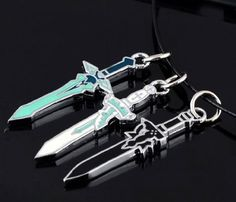 Cosplay Costume Sao Sword Art Online Kirito Dark Repulser Asuna Necklace Pendant - List price: $7.17 Price: $5.99 Saving: $1.18 (16%)