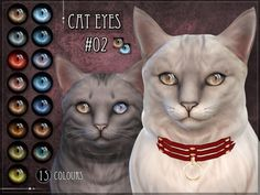 Non-default Eyes for the Sims 4 cats Found in TSR Category 'Sims 4 Sets'