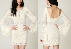 white dress with long sleeves - Google Search
