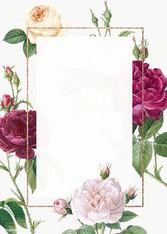 Maquete de convite de casamento design f. Floral Wedding Invitations, Wedding Invitation Cards, Wedding Cards, Wedding Events, Floral Invitation, Wedding Card Design, Wedding Programs, Wedding Stationery, Weddings