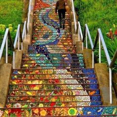 could be the stairway to heaven.