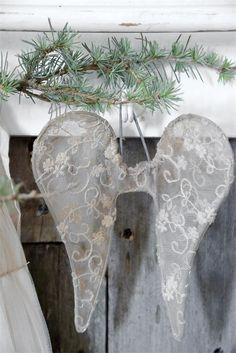 Jeanne D´Arc Living Engel Flügel 15 cm Angel Wings Vintage Shabby Stil chic Deko | eBay