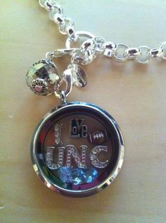 "i love UNC - Origami Owl Living Locket -  Personalize yours today! ORDER BY CLICKING ON PHOTO 1) Click ""Sign in to My Account"" 2) Create Account 3) Happy Shopping! #10657"