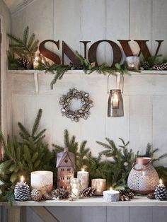 Metal letters custom sign small metal letters or large metal letters. Metal numbers Metal letters custom sign small metal letters or large metal letters. Metal letters custom sign small metal letters or large metal letters. Shabby Chic Christmas Decorations, Farmhouse Christmas Decor, Rustic Christmas, Xmas Decorations, Natural Christmas, Scandinavian Christmas, Rustic Winter Decor, Winter Home Decor, Winter House