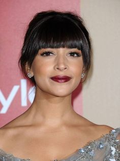 Hannah Simone all'after party dei Golden Globe il 13 gennaio 2013 a Beverly Hills.