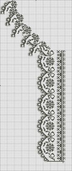 Beading _ Pattern - Motif / Earrings / Band ___ Square Sttich or Bead Loomwork ___ Cross Stitch Sampler Patterns, Cross Stitch Borders, Cross Stitch Flowers, Cross Stitch Charts, Cross Stitch Designs, Cross Stitching, Folk Embroidery, Cross Stitch Embroidery, Embroidery Patterns