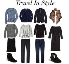 My Travel Wardrobe Starter Kit™. ;-) Yes, you CAN travel comfortably and stylishly. In comments on Monday's...
