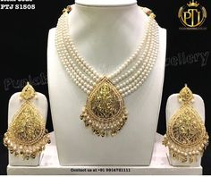Pakistani Jewelry, Indian Jewelry, Indian Necklace, Trendy Jewelry, Luxury Jewelry, Fashion Jewelry, Royal Jewelry, Gold Jewelry, Hyderabadi Jewelry