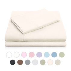 Woven Double Brushed Microfiber Sheet Set, White