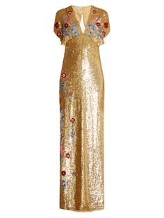 Click here to buy Temperley London Wild Horse sequin-embellished gown at MATCHESFASHION.COM