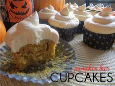 Pumpkin Beer Cupcakes