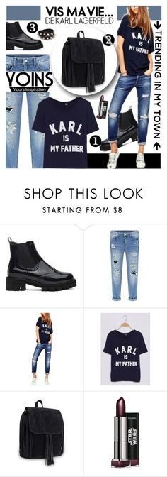 """YOINS http://yoins.me/1PrM4be"" by shambala-379 on Polyvore featuring Karl Lagerfeld and yoins"