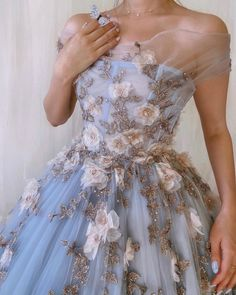 Royal Dresses, Quince Dresses, Ball Gown Dresses, Ball Gowns Prom, Lavender Prom Dresses, Ball Gowns Evening, Blue Wedding Dresses, Tulle Prom Dress, Fairytale Dress