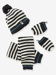 effe7050215 A great matching set to protect baby against the cold. Mittens and hat with  micro-fleece lining. Baby s hat
