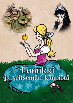 Lumikki ja seitsemän kääpiötä | Papunet Fairy Tale Story Book, Fairy Tales, Storytelling, Activities, Education, Books, Kids, Pictures, Young Children