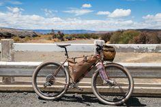 The Tim Tas + Rek Ahead Steerer Rack Saves Your Saggy Handlebar Bags | The Radavist