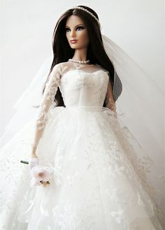 """BB Louboutin donning the 2009 reproduction of Barbie's """"Wedding Day"""" fashion. Your one-stop spot for finding suppliers of Wedding Services for the Crawley area - http://www.crawleyweddingsuppliers.uk/"""