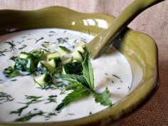 Tzatziki, Ethnic Recipes, Soups, Knits, Blog, Soup, Blogging, Knit Stitches, Tuto Tricot