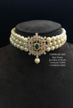 bridal sets & bridesmaid jewelry sets – a complete bridal look Pearl Necklace Designs, Gold Earrings Designs, Gold Jewellery Design, Indian Jewelry Sets, India Jewelry, Indie, Bridesmaid Jewelry Sets, Pearl Set, Beaded Jewelry