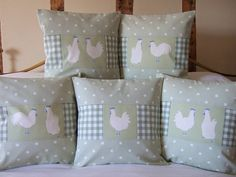 Unique Gift Ideas and Personalised Gifts Pillow Fabric, Pillow Room, Cushion Cover Designs, Cushion Covers, How To Make Pillows, Diy Pillows, Barn Conversion Interiors, Ribbon Quilt, Patchwork Cushion