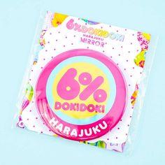 6%DOKIDOKI Pocket Mirror - Blippo Kawaii Shop Kawaii Accessories, New Pokemon, Kawaii Shop, Welcome Gifts, Japanese Beauty, Makeup Yourself, Harajuku, Hello Kitty, Logo Design
