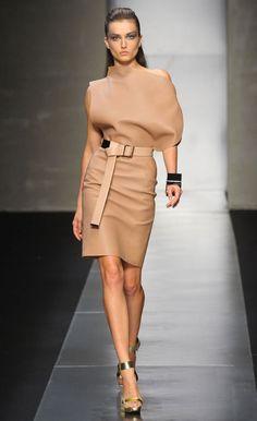 Gianfranco Ferre Spring Summer 2012, romanian model Andreea Diaconu