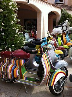 Cerdeña- Italy #Cerdeña #Sardegna #Mediterráneo #Island #Italy #vespa #moto