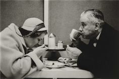 Diane Arbus, 1956, Couple Eating, NYC