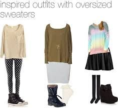 outfits with oversized sweaters tumblr - Google Search