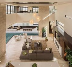 The new American home – Ultra modern Dream homes, luxury mansions, celebrity homes, ultimate kitchen and bathroom ideas on your computer, IOS and Android #mansion #dreamhome #dream #luxury http://mansion-homes.com/dream/the-new-american-home-ultra-modern/
