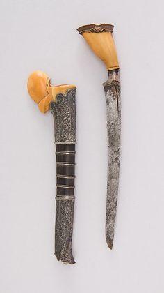Knife (Bade-bade) with Sheath. Date: 16th–19th century. Geography: Sumatra.