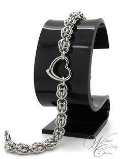 Chainmaille - кольчужное плетение.