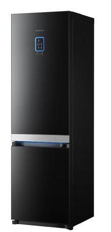 czarna lodówka od Samsung'a