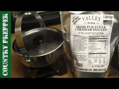 Cooking Off Grid with Valley Food Storage Irish Pub Style Cheddar Potato