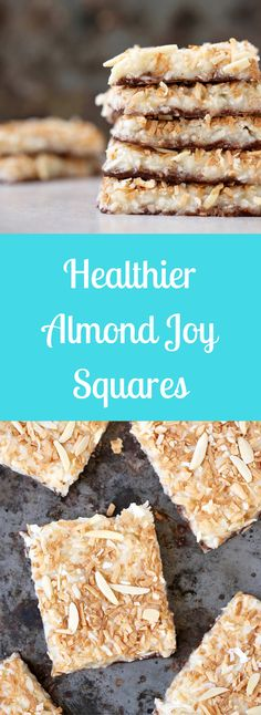 Healthier Almond Joy