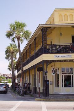 A1A ale works,downtown St. Augustine,Fl best beer cheese soup ever! Straight down is O.C.Whites, worked there in college!