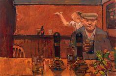 London Artist Ruskin Spear (1911 – 1990) - The Enthusiast