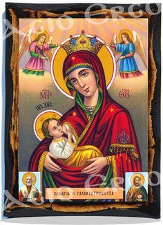 Holy Virgin Mary Galaktotrofousa Greek Orthodox Russian Mount