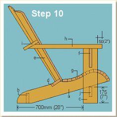 Planos de Carpintaria gratuitas: Cadeira de Adirondack Planos