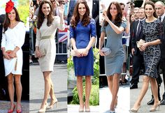 I love Kate Middleton's style! It's so simple and classy and she always picks beautiful and modest dresses