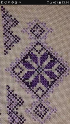 Luanaamelia Russo's media content and analytics Simple Embroidery, Folk Embroidery, Ribbon Embroidery, Cross Stitch Embroidery, Hand Embroidery Design Patterns, Beading Patterns, Knitting Patterns, Cross Stitch Designs, Cross Stitch Patterns
