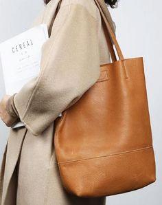 Handmade Genuine Leather Handbag Tote Bag Shopper Bag Shoulder Bag Purse For Women