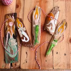 Driftwood Meerjungfrauen Sirenen Treibholz von JessicaMingoDesigns