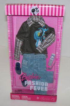 2007 Barbie Fashion Fever Fashions Ken Clothing Set L3385 NRFB   eBay