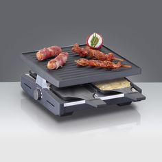 Bordázott, 20x23 cm sütőfelület 4 db zománcozott serpenyő Tapadásmentes,  alumínium öntvény sütőfelület Hőszabályzás Egyszerűen tisztítható