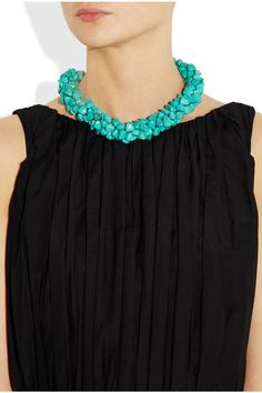 Designers are loving bright chunky jewellery this season - get the look for less at Damart http://www.damart.co.uk/-p-I8229.html