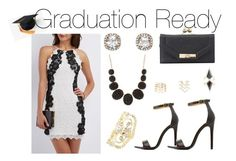 """Graduation Ready"" by charlotterusse ❤ liked on Polyvore featuring Charlotte Russe, stylesteal and CharlotteLook"