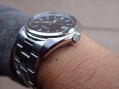 Seiko Men's Japanese-Automatic Watch with Stainless-Steel Strap, Silver, 20 (Model: Seiko Sarb, Seiko Men, Seiko Watches, Modern Watches, Cool Watches, Watches For Men, Seiko Automatic, Automatic Watch, Beautiful Watches
